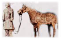 Tomb Figures of Cavalry of the Qin Dynasty