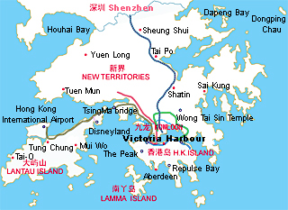 HONGKONG TRAVEL GUIDE MAP