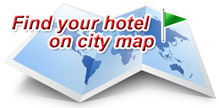Find your hotel on city Map