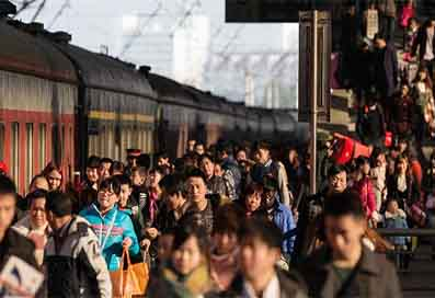 Chinese New Year, the largest human migration of all times