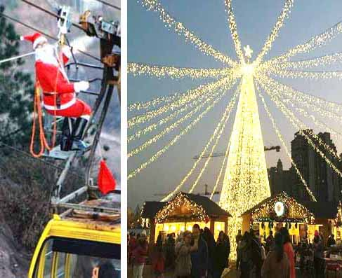 Christmas 2014 in China. Events, customs, celebrations and gifts