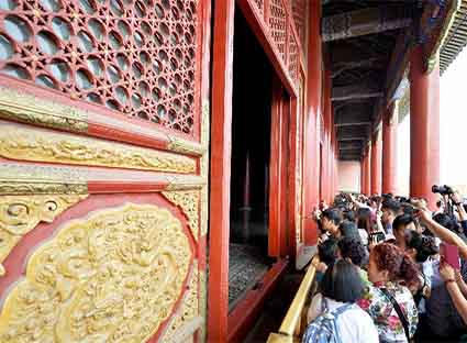 Half price for entry tickets to the famous Chinese imperial palace in Beijing