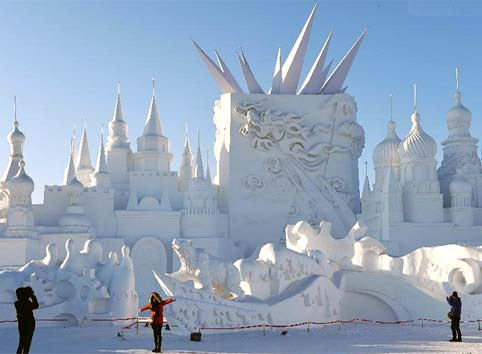 Harbin 2015, new beautiful Ice and Snow Festival