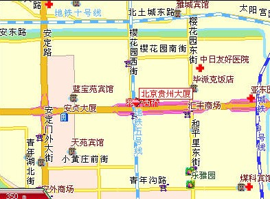 Beingjing Guizhou Mansion Map