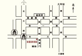 Crystal Business Hotel Map