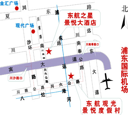 Jingyue Resort Map