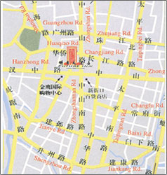 Future Inn Nanjing Map