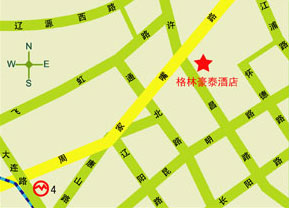 GreenTree Inn Shanghai Jiangpu Express Hotel Map