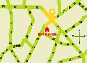 GreenTree Inn Shenzhen Dongmen Hotel Map
