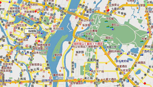 Grand  Link  Hotel, Guilin Map