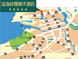 Haikou Golden Coast Lawton Map