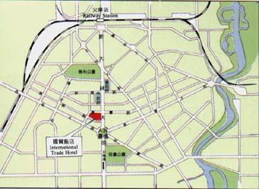 International Trade Hotel, Changchun Map
