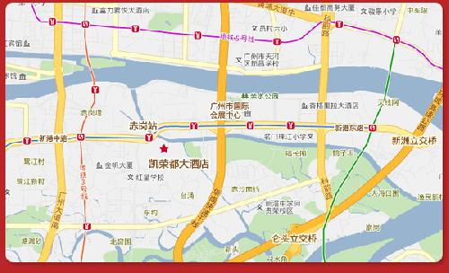 GuangZhou Kingdom International Hotel Map