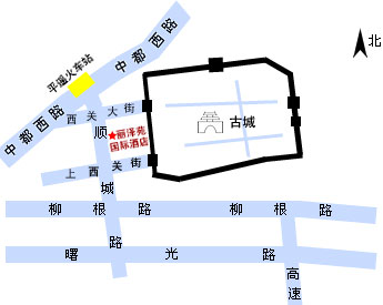 Li Ze Yuan International Hotel Map