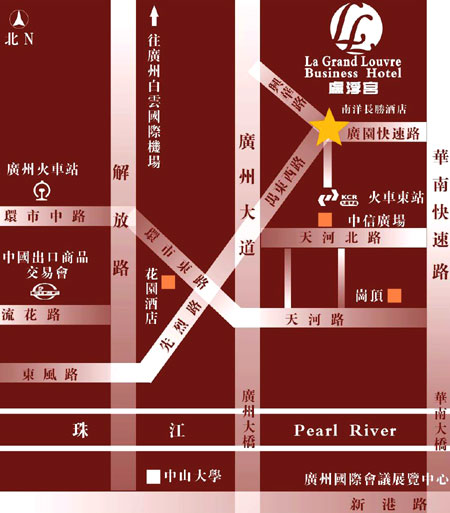 Nanyang King's Gate Hotel Map