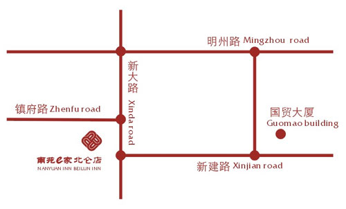 Nanyuan Inn-Ningbo Belun Inn Map
