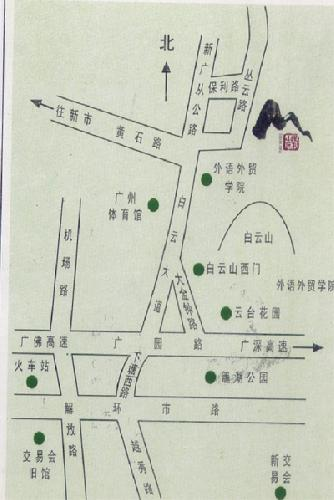 Guangzhou Poly Hotel Map