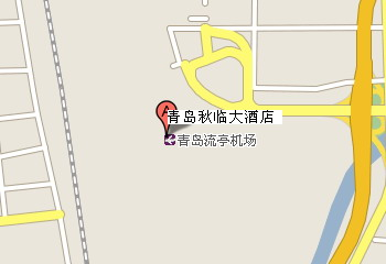 Qiulin Hotel, Qingdao Map