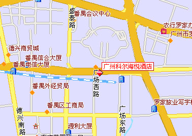 Royal Marina Plaza ,Guangzhou Map