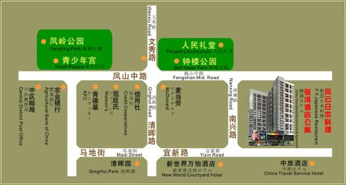 Shunde Juntao Business Hotel, Foshan Map