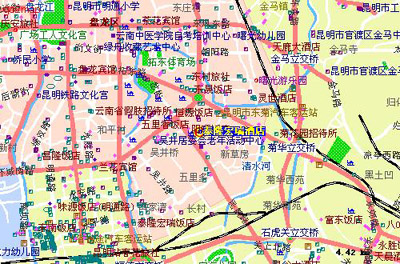 Tai Long Hong Rui Hotel,Kunming Map