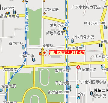 The Westin Guangzhou Map