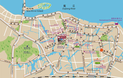 Victoria Grand Hotel, Wenzhou Map