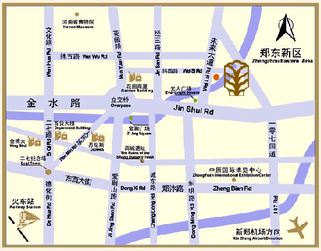 Weilai Conifer Hotel ,Zhengzhou Map