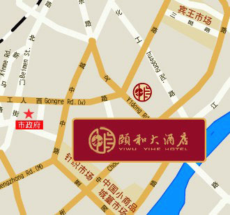 Yiwu Yihe Hotel Map