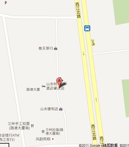 Shangshui Boutique Hotel - Zhaoqing Map